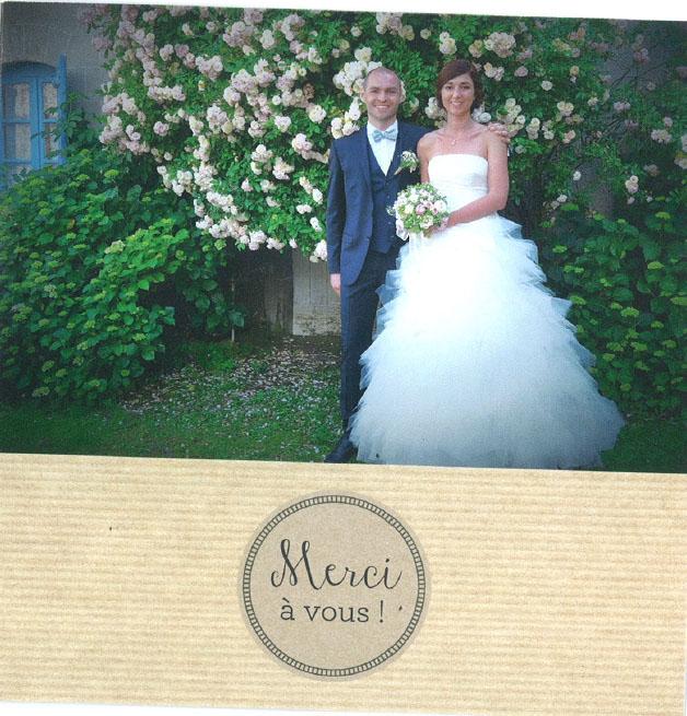 robe de mariage Lune de miel Céline et Julien