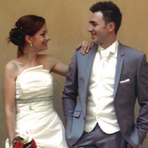 robe de mariage Lydie-Mickael